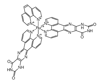 BIS(PTERIDINO[6,7-F][1,10]PHENANTHROLINE-11,13(10H,12H)-DIONE-κN4,κN5)(1,10-PHENANTHROLINE-κN1,κN10)RUTHENIUM(III)