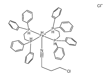 TRANS-[FEH(4-CHLOROBUTYRONITRILE)(DPPE)2]CL