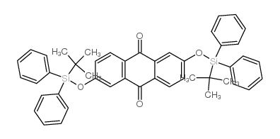 2,6-DI([1-(TERT-BUTYL)-1,1-DIPHENYLSILYL]OXY)-9,10-DIHYDROANTHRACENE-9,10-DIONE