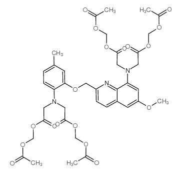 acetyloxymethyl 2-[N-[2-(acetyloxymethoxy)-2-oxoethyl]-2-[[8-[bis[2-(acetyloxymethoxy)-2-oxoethyl]amino]-6-methoxyquinolin-2-yl]methoxy]-4-methylanilino]acetate